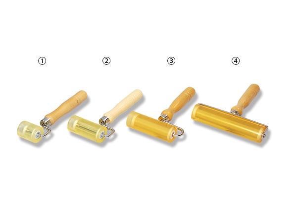 硬質ウレタンローラー 片枠(ベアリング入)35φ×75mm