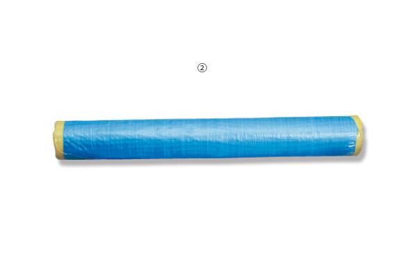 ②ブルークロスシート 0.9m×100m