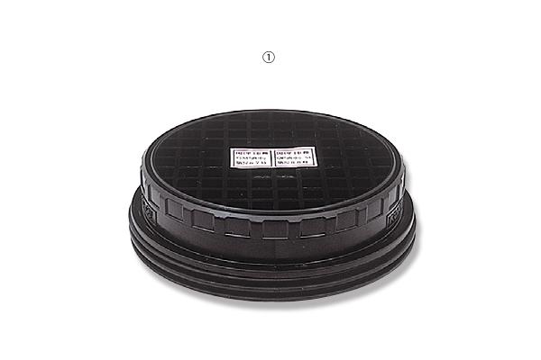コーケン吸収缶 KGC-10型