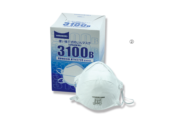山本防塵マスク 3100-B(20枚入)
