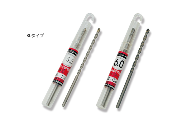 オールドリルBLタイプ 刃先径/3.4~5.3mm/φ-全長100・120mm