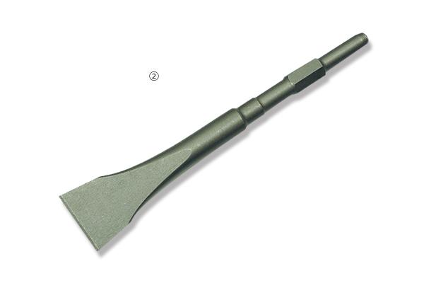 ②衝撃切削工具 スケーリングチゼル 50mm
