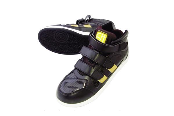 ミドルカット安全靴 No.6545 ブラック