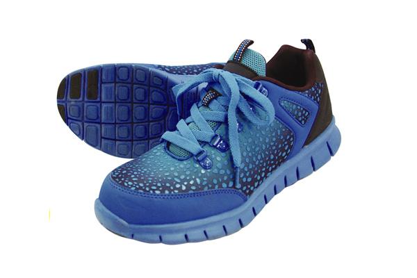 グラデーション安全靴 No.6505 ブルー