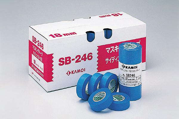 カモ井テープ SB-246(ブルー)