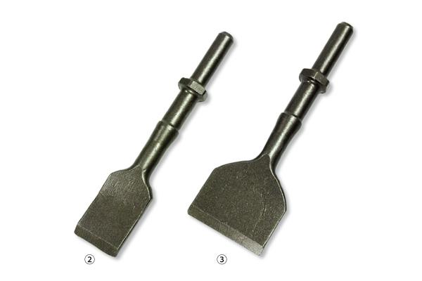 ②マキタ電動ケレン HK1810用スケーリングチゼル 30mm