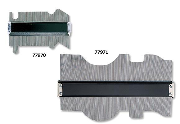 シンワ 型取りゲージ A 150mm