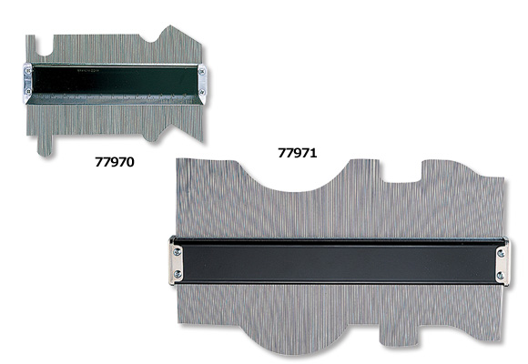 シンワ 型取りゲージ B 300mm