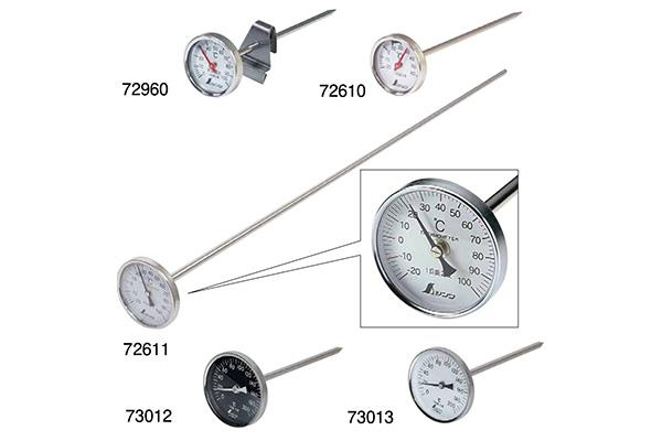 シンワ 温度計 V-4 丸T字型