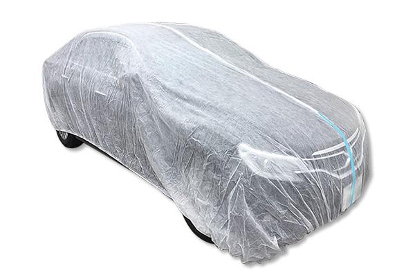 不織布自動車養生カバー(乗用車用L)
