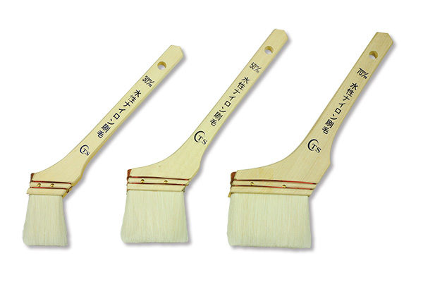 水性ナイロン刷毛(12本入)