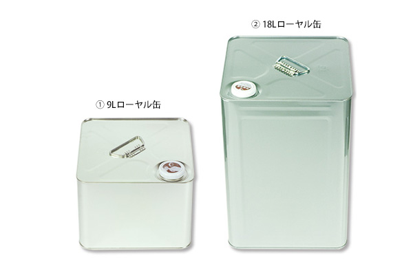 ②スチール缶 ローヤル缶 18L(6缶)