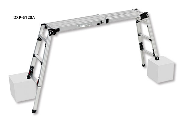 PiCa 4脚アジャスト式足場台 DXP-S120