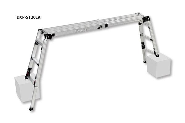 PiCa 4脚アジャスト式足場台 DXP-S120L