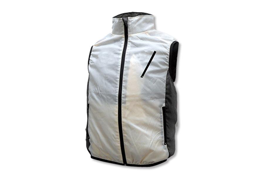 BR-006 空調エアコン®服 ベストタイプ フルセット(ホワイト)