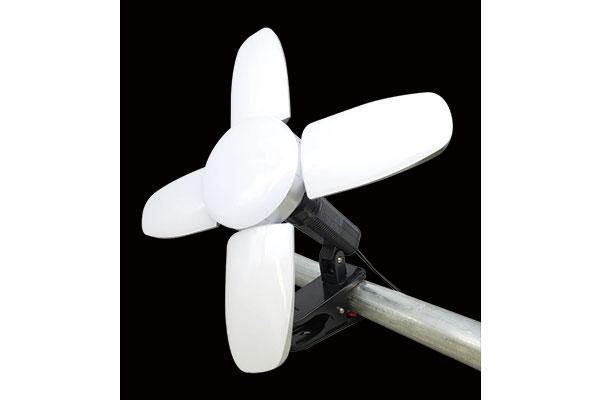 スーパールミネ X(LED電球付クリップランプ)