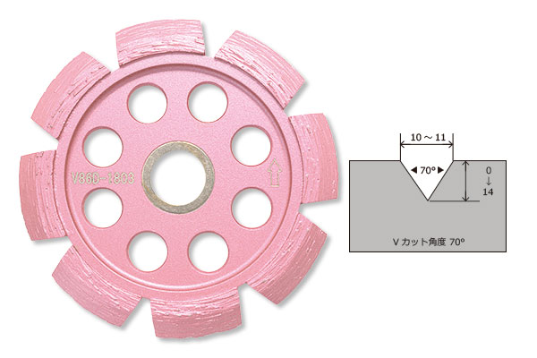 LINAX クリーンカッター HC -10M用 Vカッター
