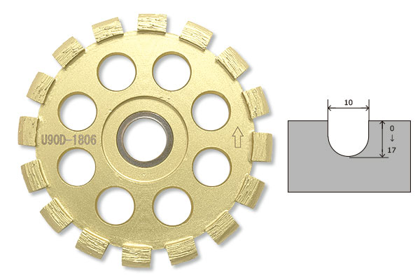 LINAX クリーンカッター HC -10M用 Uカッター