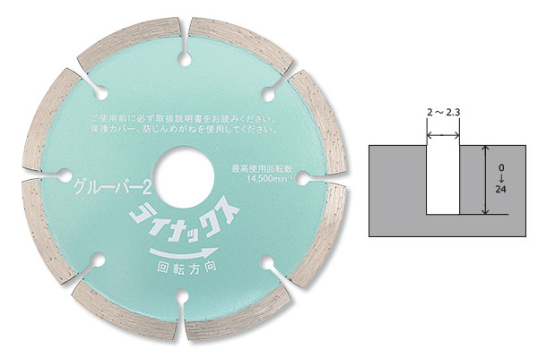 LINAX クリーンカッター HC -10M用 グルーバー2