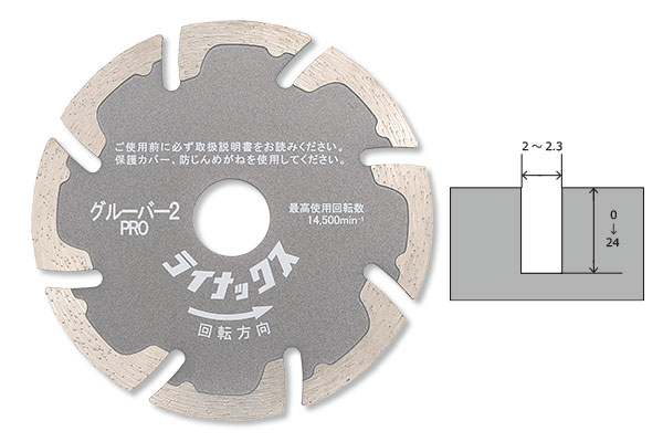 LINAX クリーンカッター HC -10M用 グルーバー2プロ