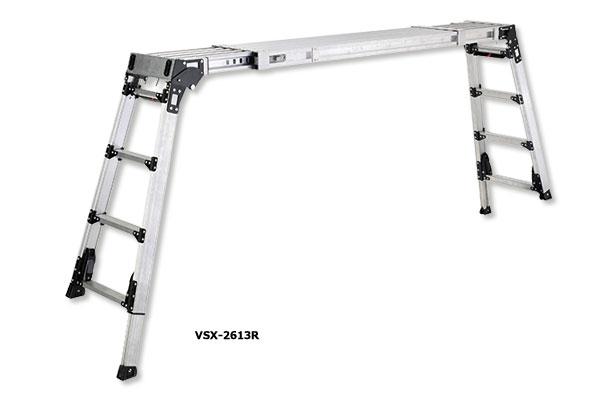 伸縮天板・伸縮脚付足場台 VSX-R