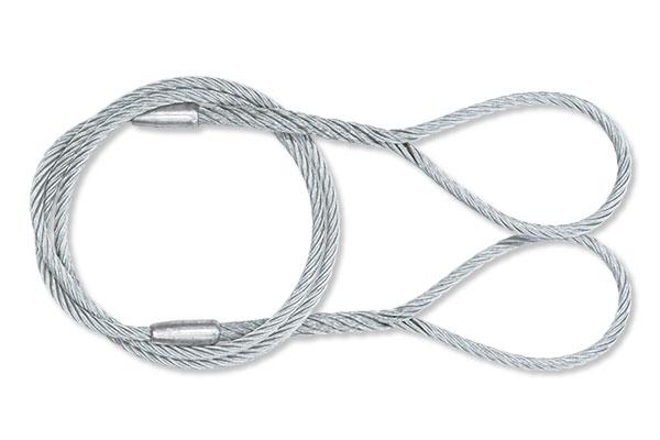 玉掛ワイヤーロープ Wスリング(ロープ径 φ9mm)